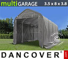 Shelter multiGarage 3.5x8x3x3.8 m, Grey