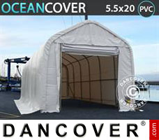 Shelter Oceancover 5.5x20x4.1x5.3 m PVC
