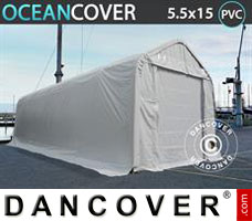 Shelter Oceancover 5.5x15x4.1x5.3 m, PVC