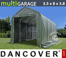 Shelter multiGarage 3.5x8x3x3.8 m, Green