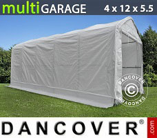 Shelter multiGarage 4x12x4.5x5.5 m, White