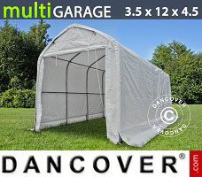 Shelter multiGarage 3.5x12x3.5x4.5 m, White